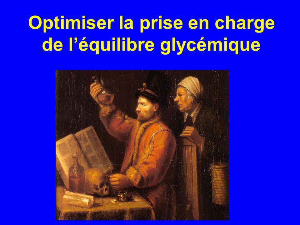 Optimiser la prise en charge de léquilibre glycémique