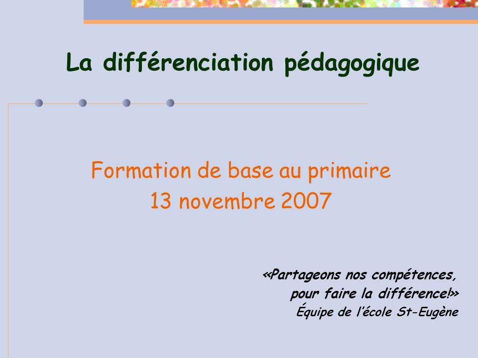 Lordre du jour - Définition et démarche de DP - Étape 1 de la démarche de DP - Présentation du projet de léquipe St-Eugène - Pause - Travail en équipe sur létape 1 - Accompagnement 2007-2008 - Évaluation de la rencontre