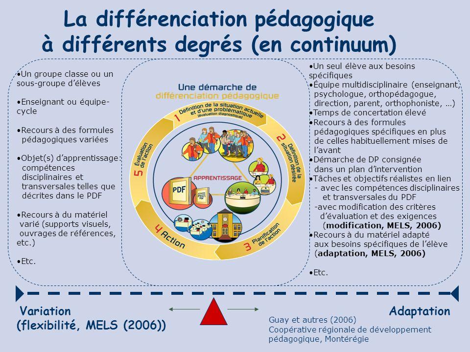 Exemple de la démarche de DP À lécole St-Eugène, c.s.