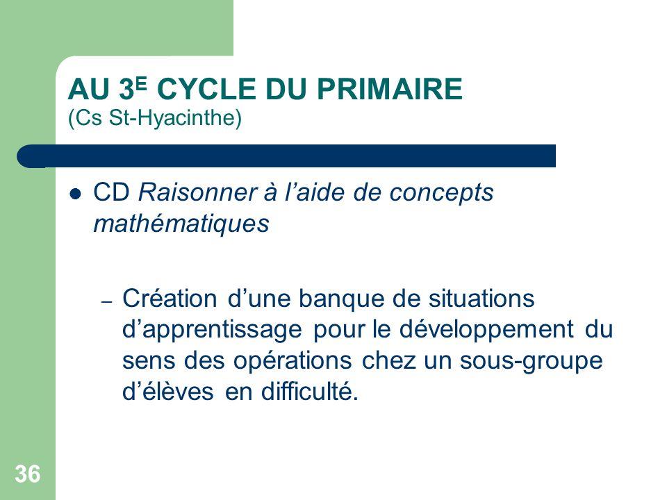 35 AU 3 E CYCLE DU PRIMAIRE (Cs Marie-Victorin) CD Lire des textes variés – – Projet de décloisonnement où chaque sous-groupe travaille au développeme