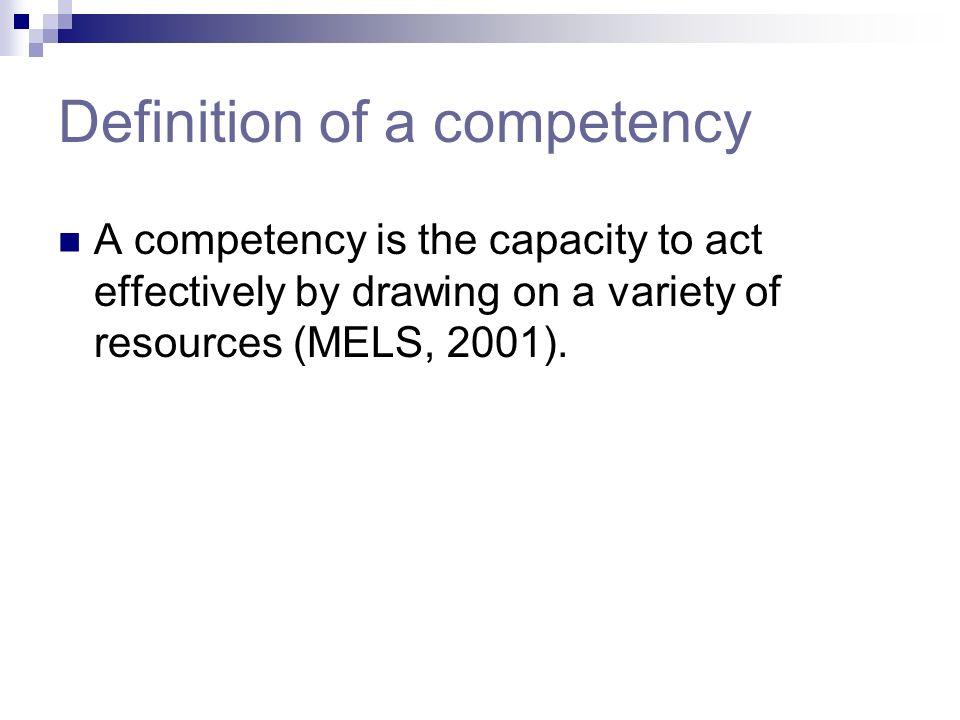 Some targeted competencies Commission scolaireCompétence(s) ciblée(s) Cs Marie-VictorinAdopts effective work methods / ESL + Math Cs des PatriotesAdop