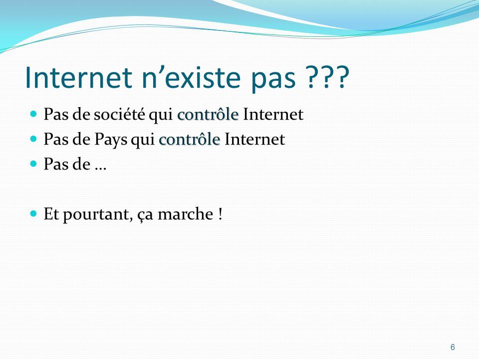Internet nexiste pas ??.
