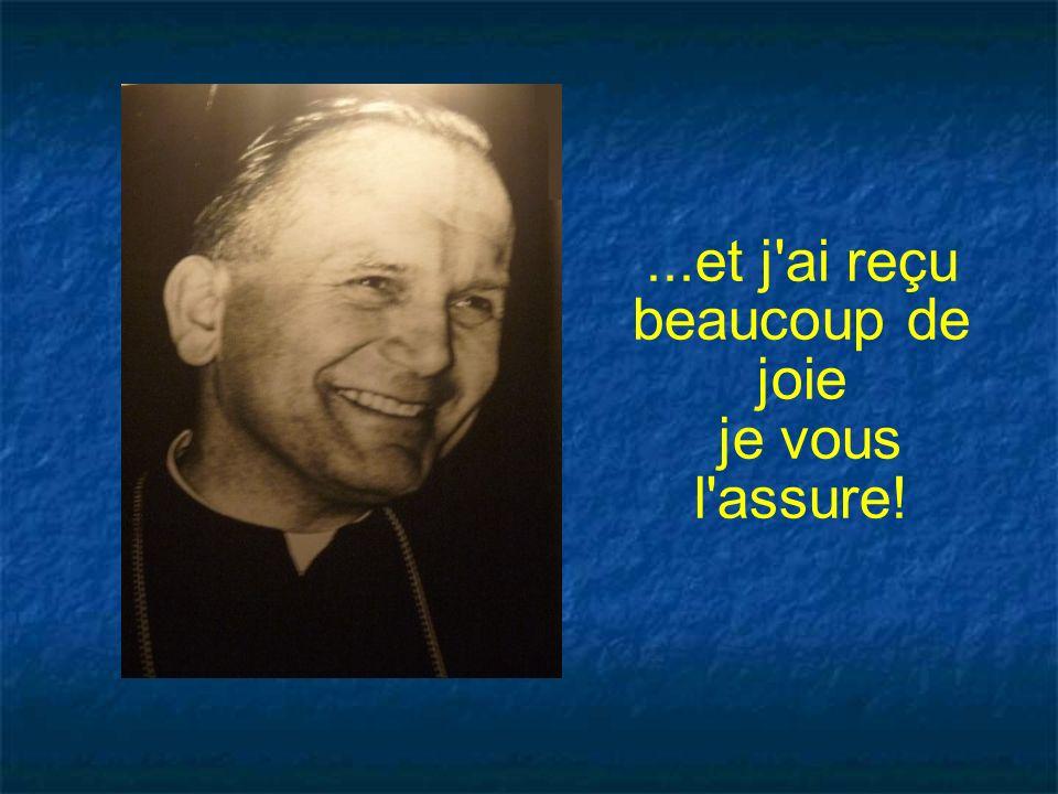 J ai été élu pape de lÉglise catholique romaine le 16 octobre 1978 sous le nom de Jean-Paul II