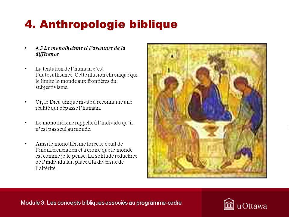 Module 3: Les concepts bibliques associés au programme-cadre 4. Anthropologie biblique 4.2 Le mythe de la tour de Babel La destruction de la tour va r
