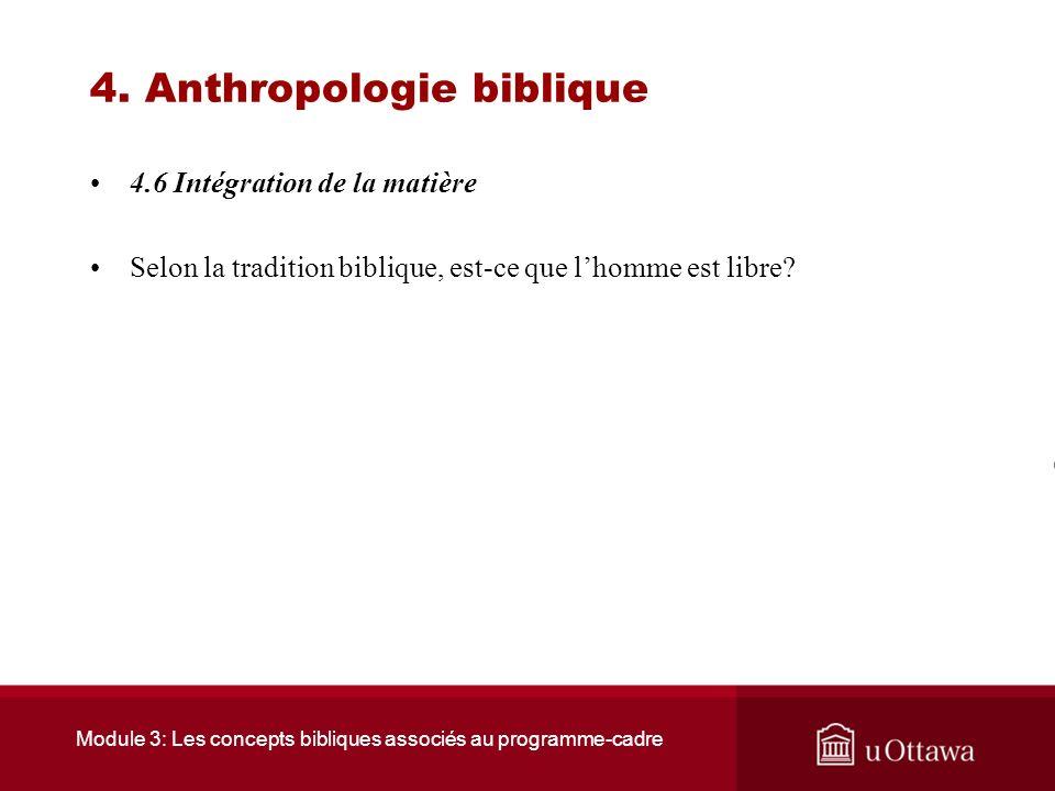 Module 3: Les concepts bibliques associés au programme-cadre 4. Anthropologie biblique 4.5 Ressources Le Monothéisme est un humanisme Auteur : Shmuel