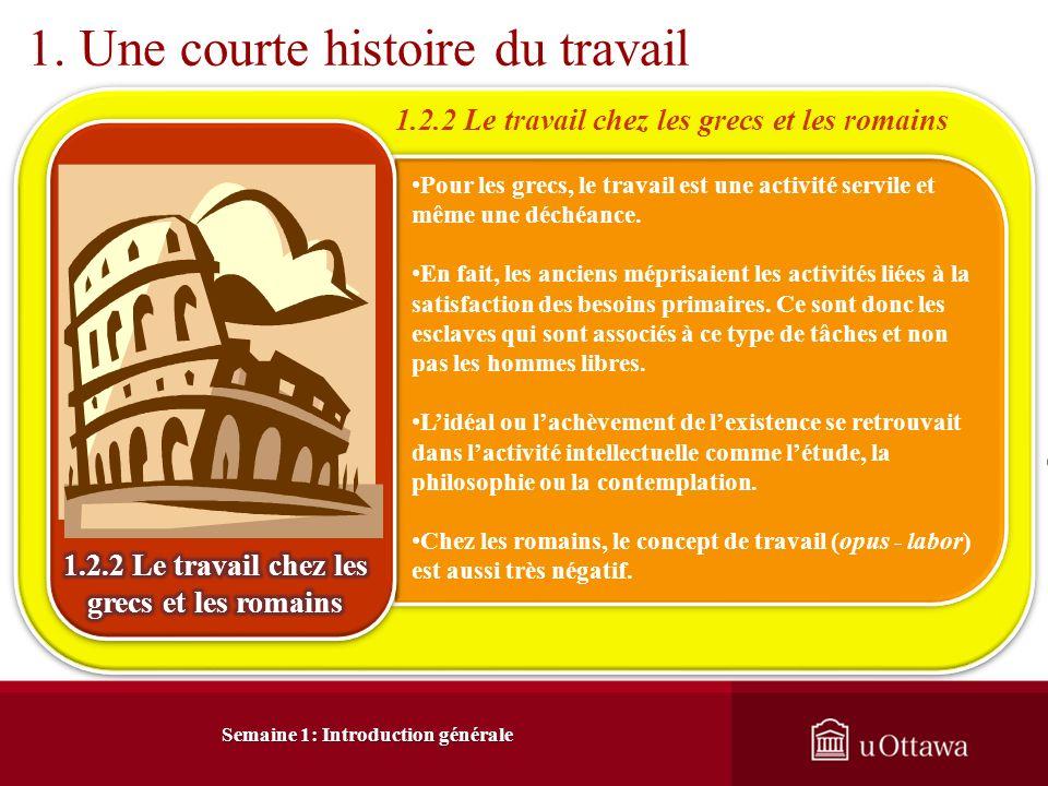 Semaine 1: Introduction générale 3.
