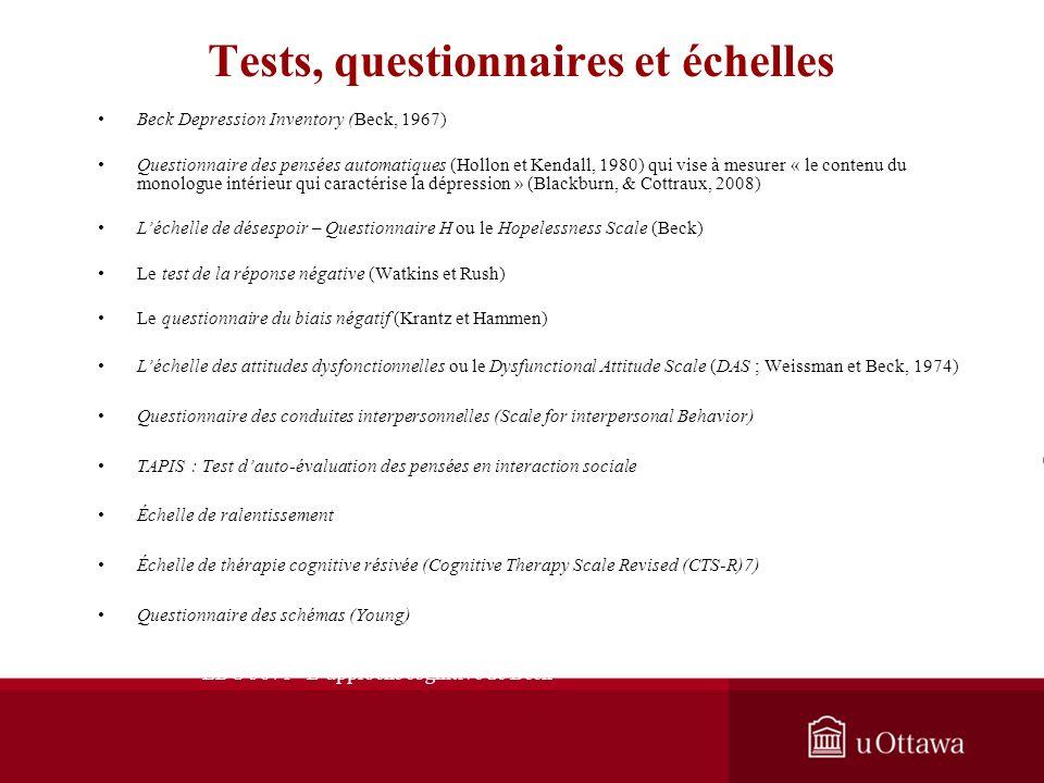 Semaine 1: Introduction générale Activités dintégration Questions à répondre 1.En vous référant à larticle suivant : 1.Butler, A. C., Chapman, J. E.,