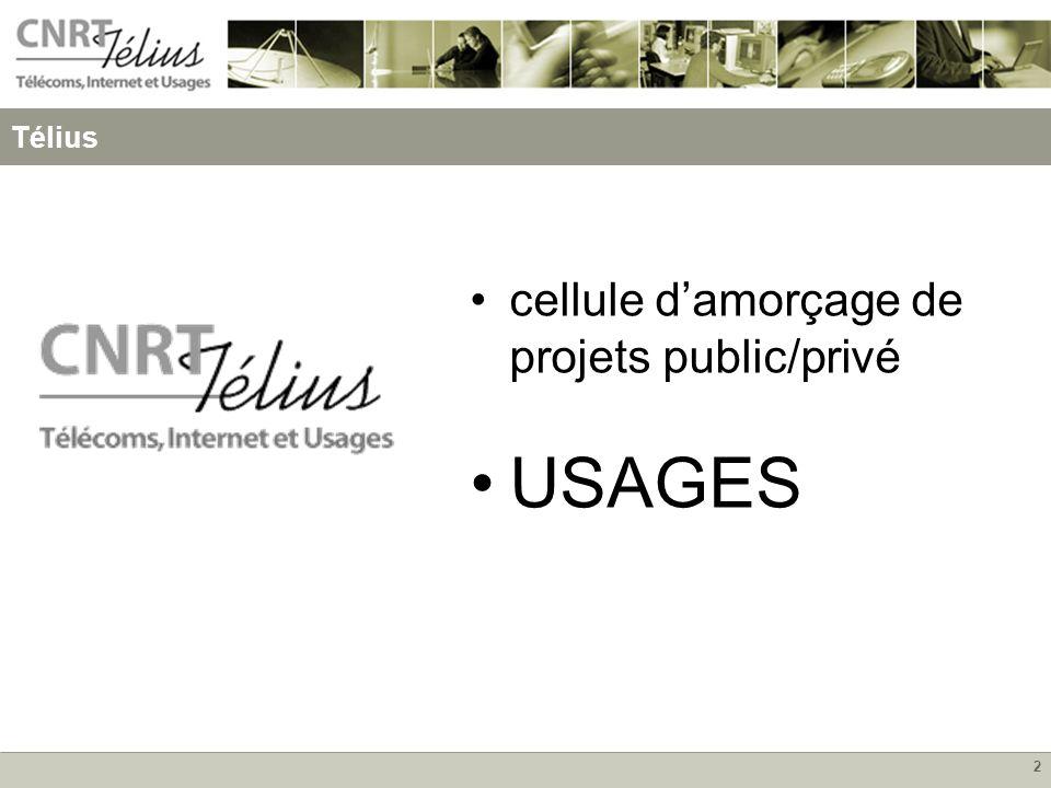 2 cellule damorçage de projets public/privé USAGES Télius