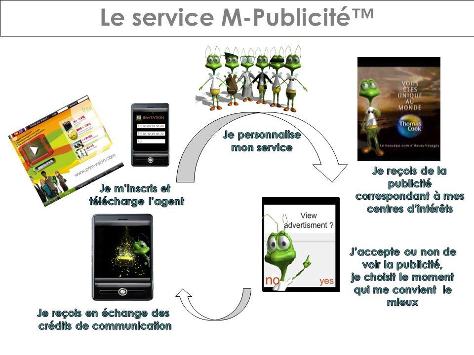 Le service M-Publicité
