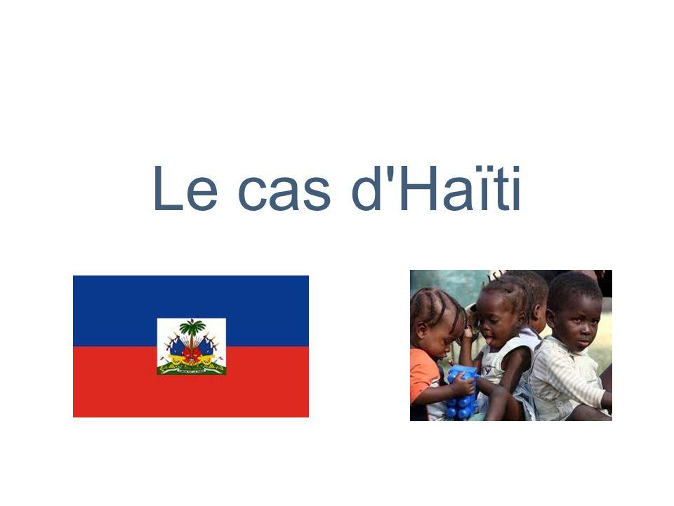 Le cas d'Haïti
