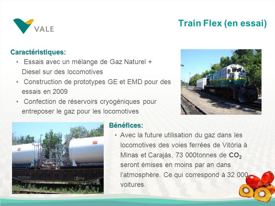 Caractéristiques: Essais avec un mélange de Gaz Naturel + Diesel sur des locomotives Construction de prototypes GE et EMD pour des essais en 2009 Conf