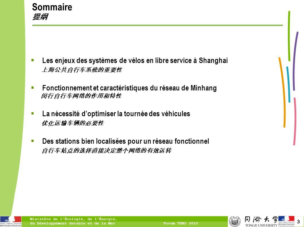 4 LES ENJEUX DES SYSTÈMES DE VÉLOS EN LIBRE SERVICE À SHANGHAI Pourquoi le développement des vélos est une nécessité à Shanghai.