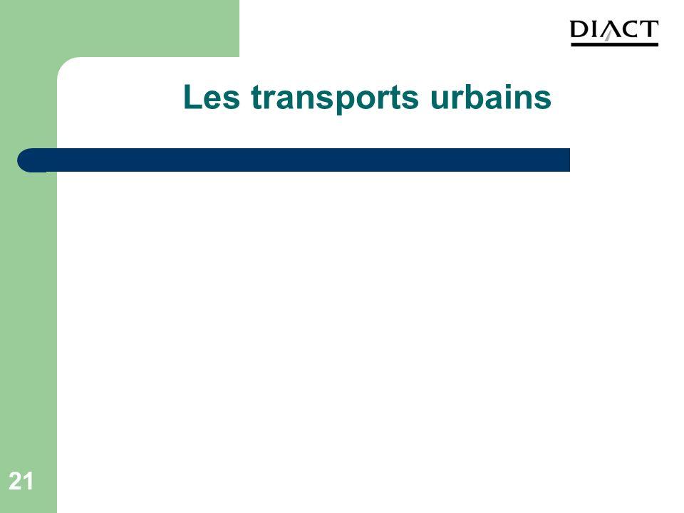 21 Les transports urbains