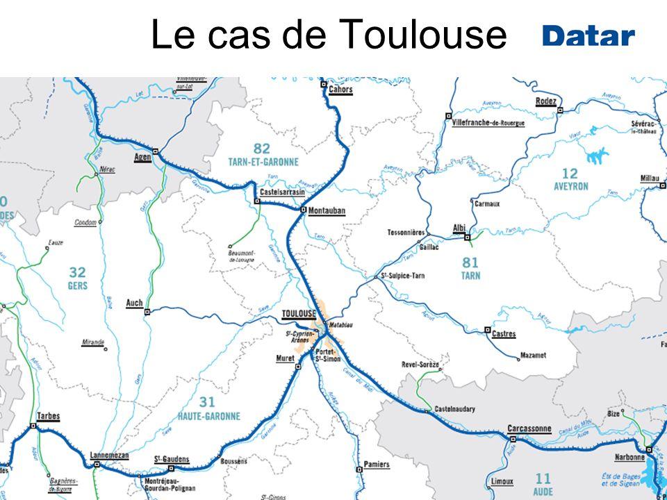 Forum « Transports à Haut Niveau de Service » des 10 et 11 septembre 2010Page : 13 Le cas de Toulouse