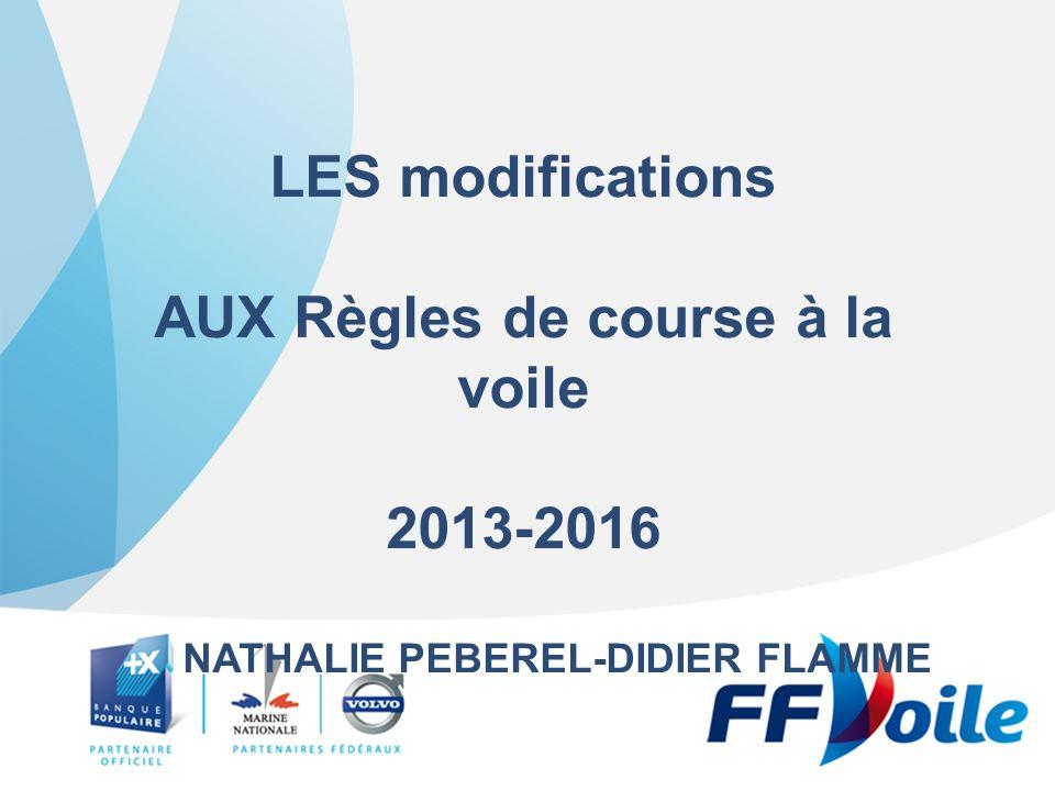 B3 MODIFICATIONS AUX REGLES DU Chapitre 3 DIRECTION Dune course
