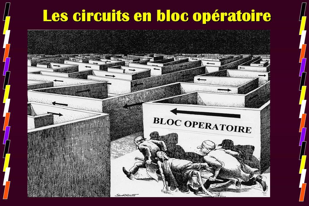 Les circuits en bloc opératoire