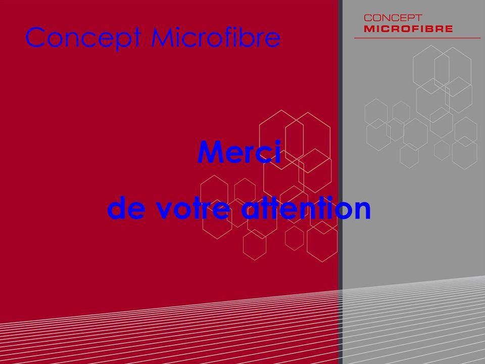 122 Concept Microfibre Merci de votre attention
