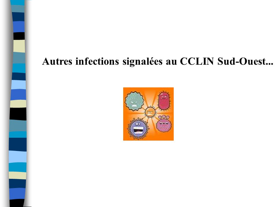Autres infections signalées au CCLIN Sud-Ouest...