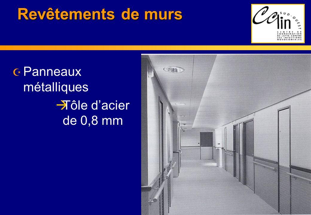Z Panneaux métalliques àTôle dacier de 0,8 mm Revêtements de murs