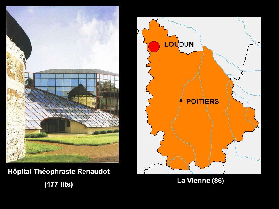 Hôpital Théophraste Renaudot (177 lits) LOUDUN La Vienne (86) POITIERS
