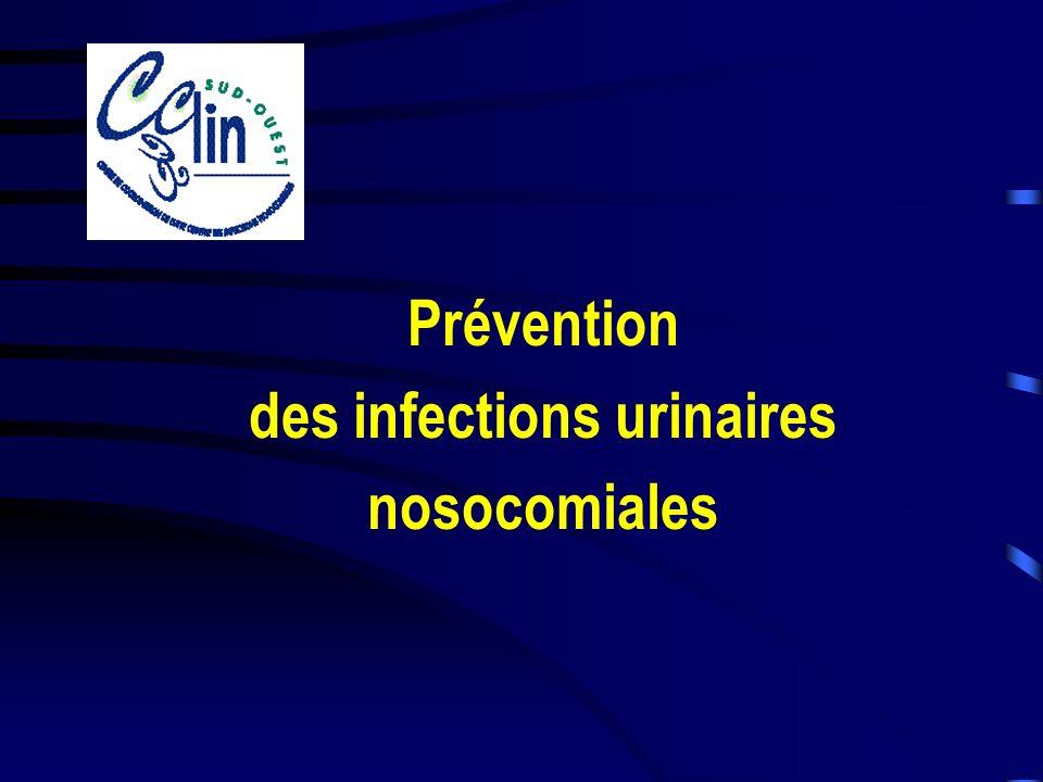 www.cclin-sudouest.com Question I : Diagnostic biologique ECBU Interprétation –Bactériurie (ou candidurie) considérée si > à 10 3 ufc/ml (III) = limite de quantification par la méthode usuelle, –la leucocyturie na pas dintérêt chez le patient sondé (D II).