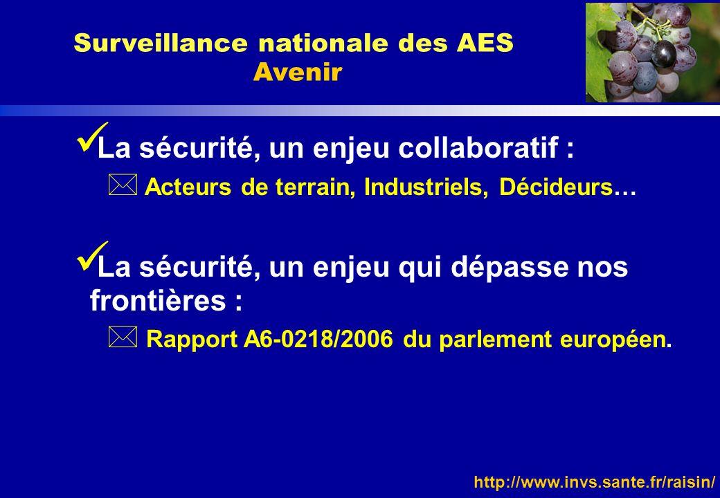 http://www.invs.sante.fr/raisin/ La sécurité, un enjeu collaboratif : * Acteurs de terrain, Industriels, Décideurs… La sécurité, un enjeu qui dépasse
