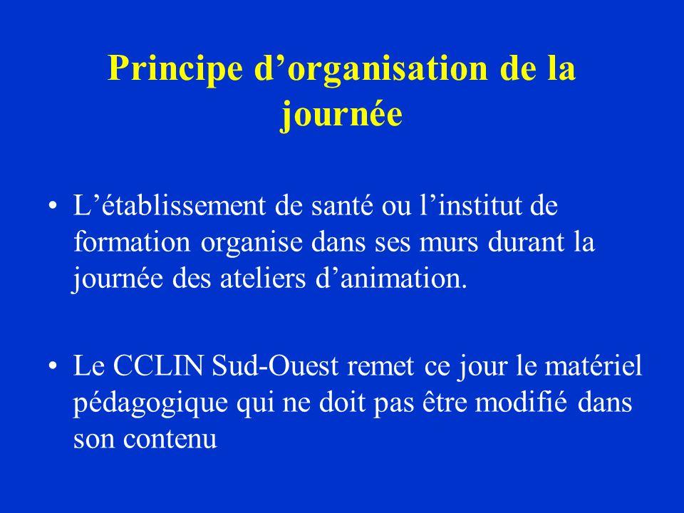 Organisation pratique de la journée LEOHH Les membres du CLIN Les correspondants en hygiène doivent également être sollicités.