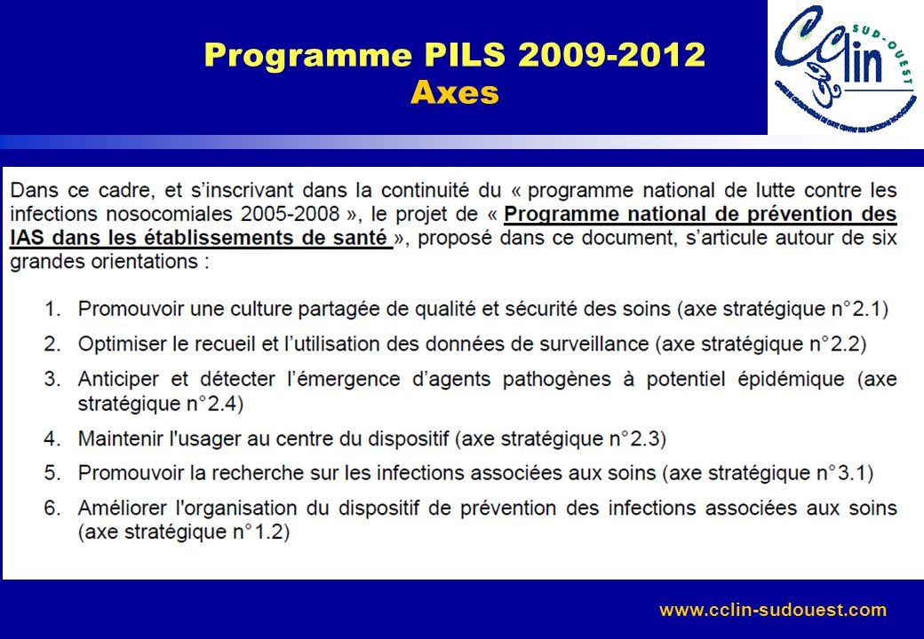 www.cclin-sudouest.com Programme PILS 2009-2012 Axes