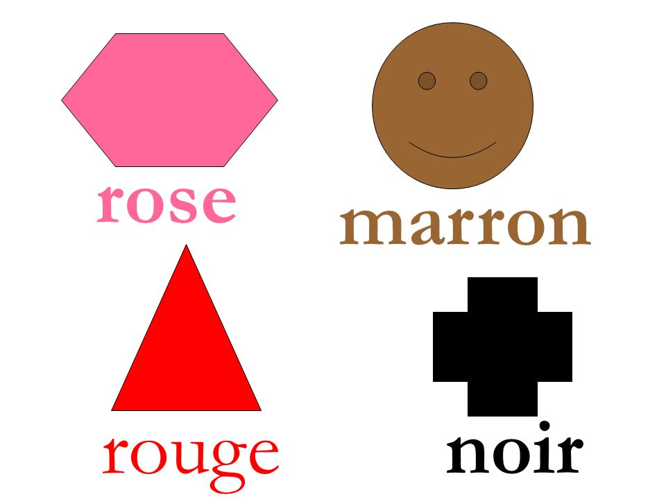 rouge rose marron