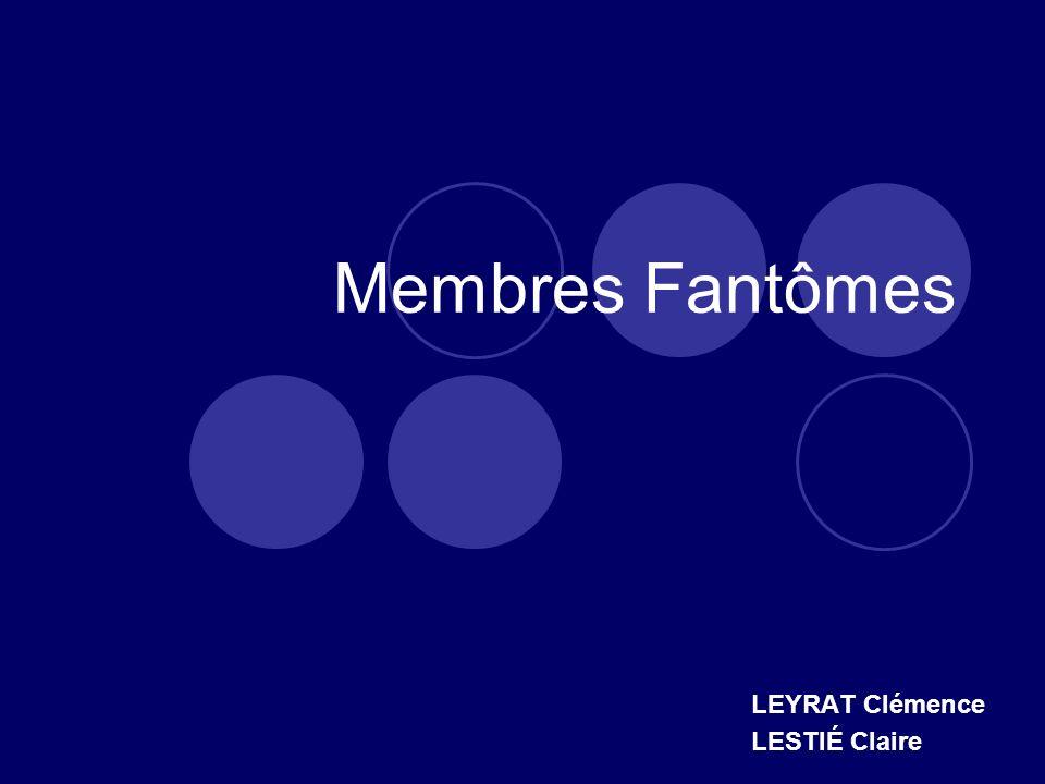 Membres Fantômes LEYRAT Clémence LESTIÉ Claire