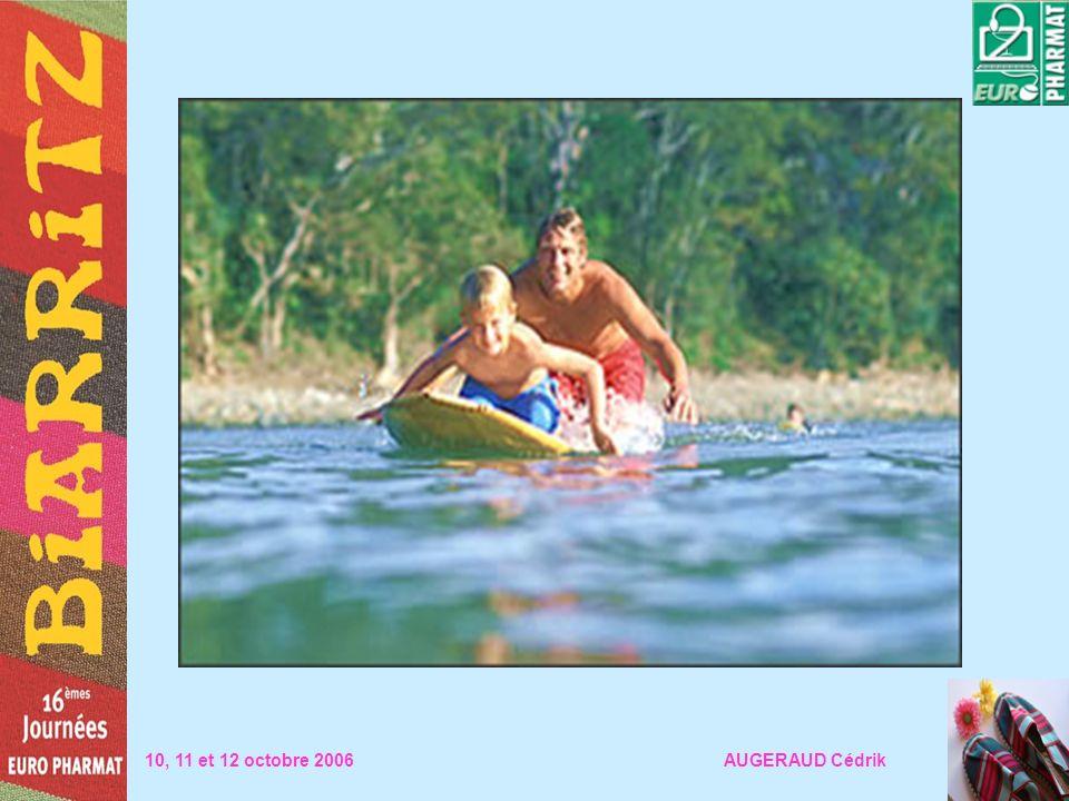 10, 11 et 12 octobre 2006 AUGERAUD Cédrik