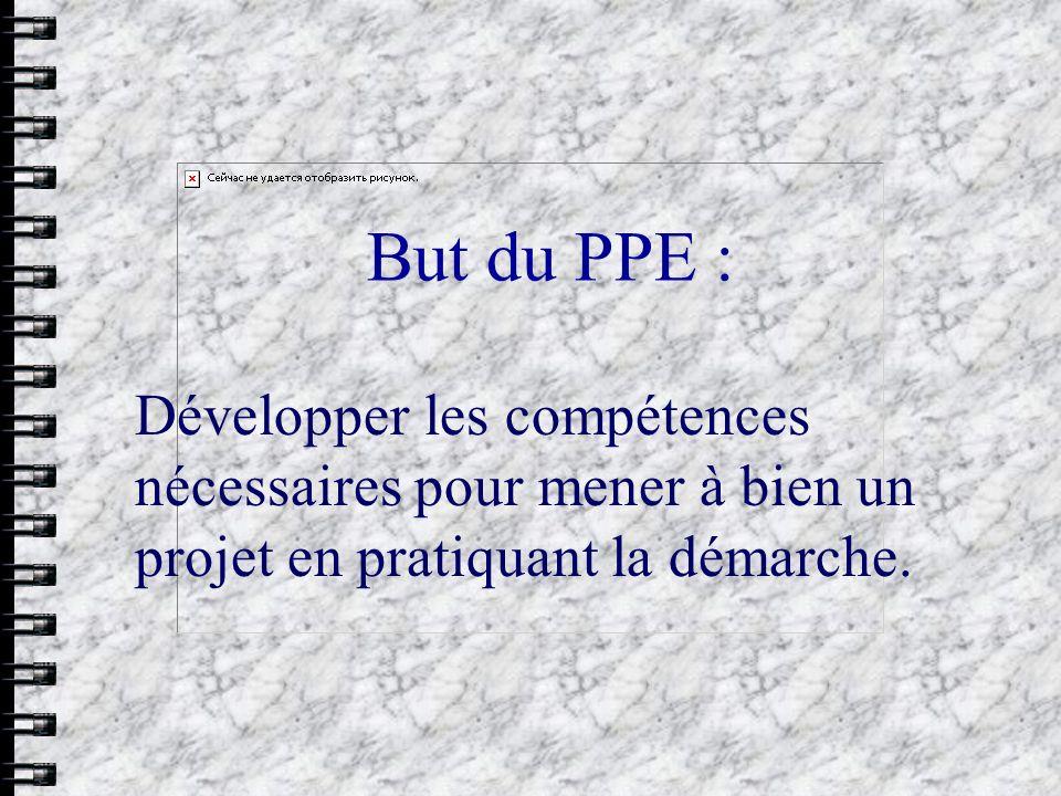 Évaluation 3.Crit è res d é valuations : L Evaluation PPE se d é compose en 3 parties : A.