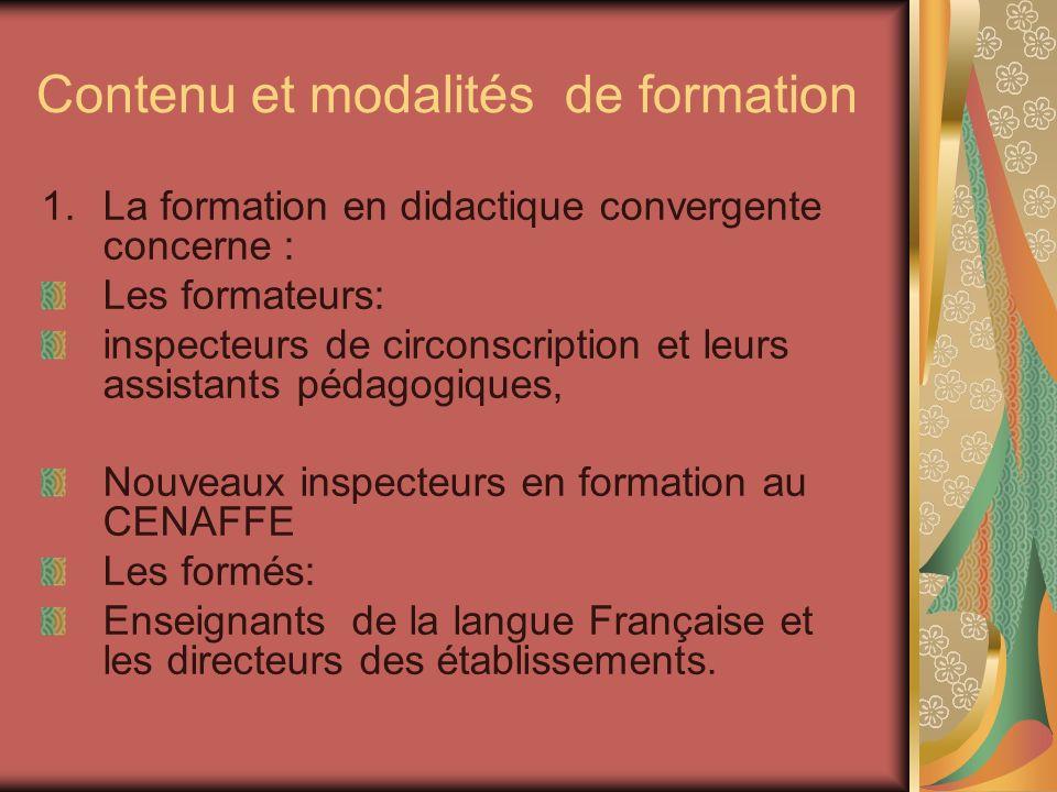 Contenus de la formation des enseignants : Proposer des pistes dexploitation du guide pour résoudre certains problèmes déjà évoqués.