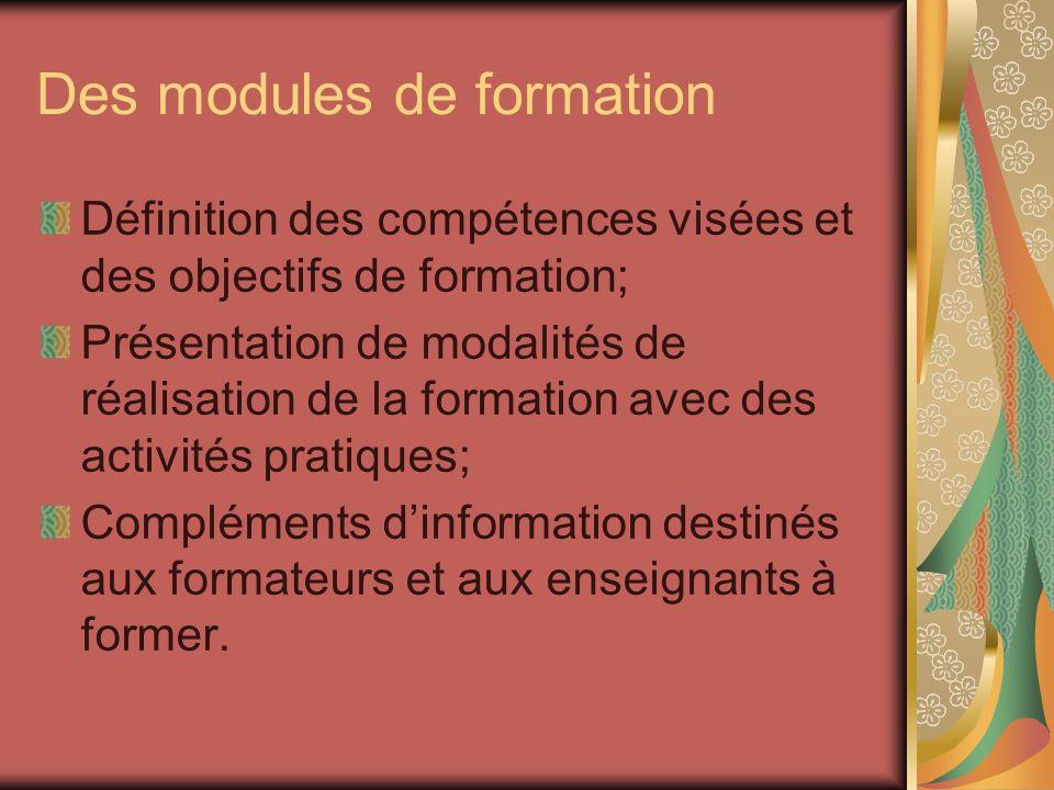 Objectifs de la formation des directeurs: Intégrer la formation des maîtres en didactique convergente dans un projet détablissement.