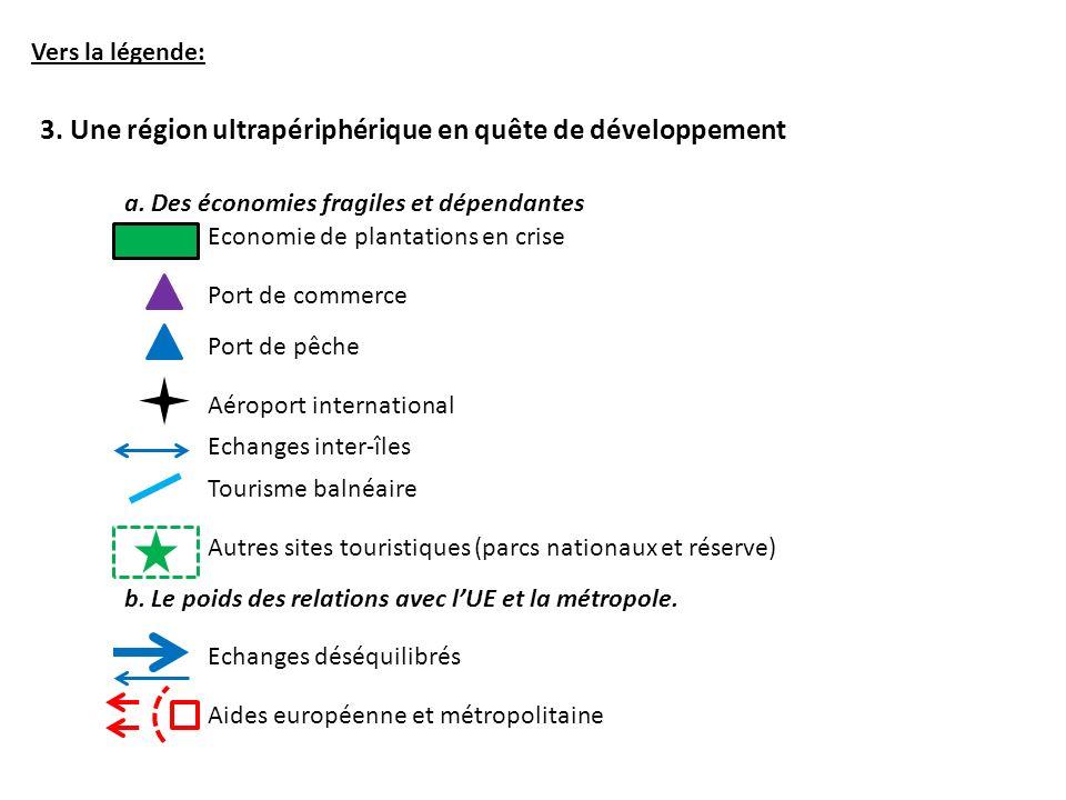 Vers la légende: 3.Une région ultrapériphérique en quête de développement a.