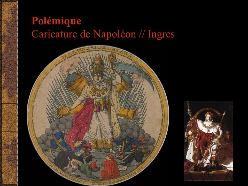 Polémique Caricature de Napoléon // Ingres