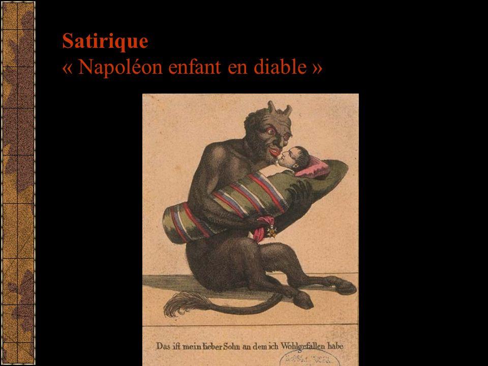 Satirique « Napoléon enfant en diable »