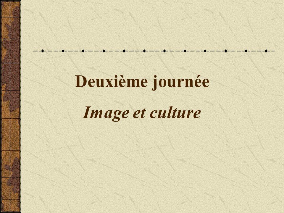 Deuxième journée Image et culture