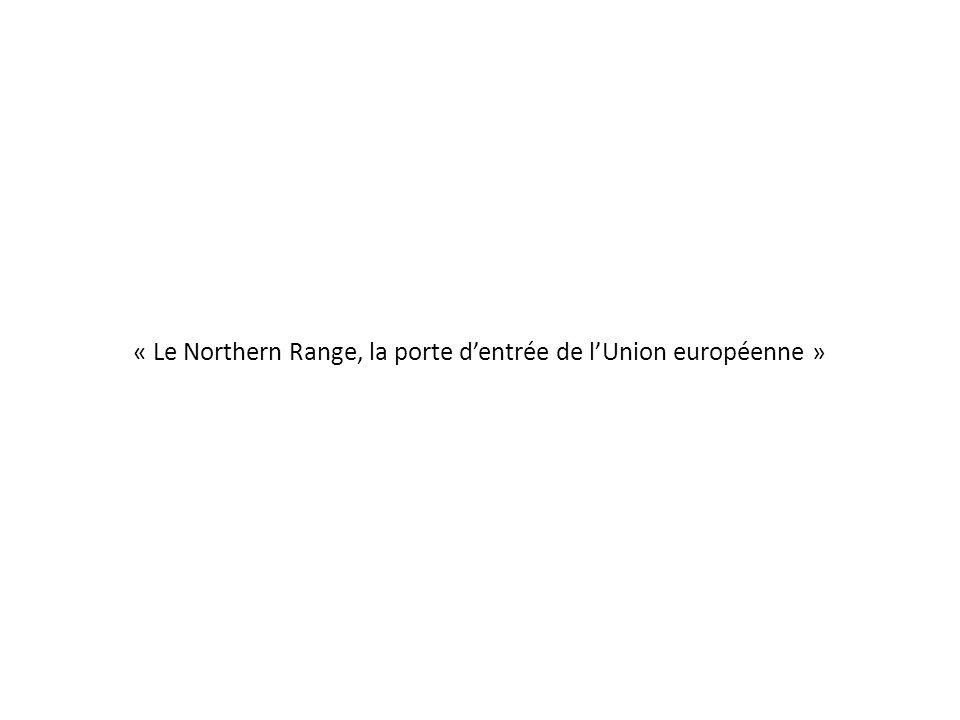 Espace littoral entre la Mer du Nord et lOcéan Atlantique 11 ports de commerce (de dimension et de poids différents)