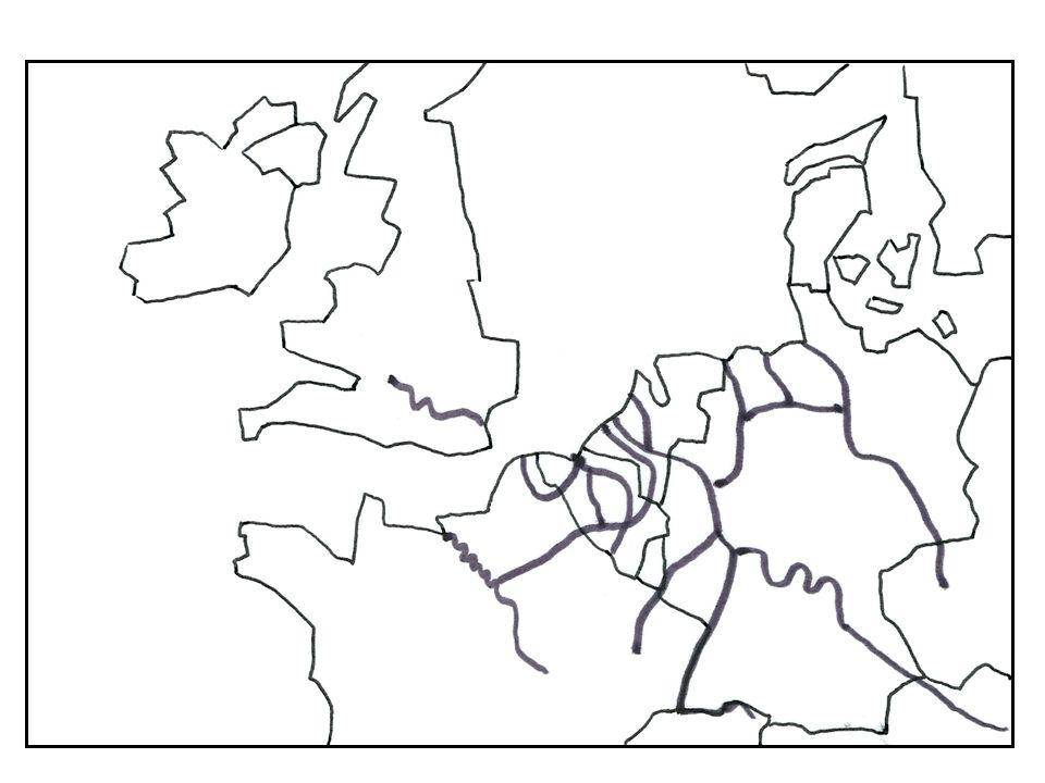 Méditerranée Moyen-Orient Asie Amérique du Nord OCEAN ATLANTIQUE MER DU NORD Paris Munich Francfort Berlin Bruxelles Londres Hambourg Amsterdam 1 2 3 4 56 7 8 9 1 Hambourg 2 Brême-Wilhemshaven 3 Amsterdam 4 Rotterdam 5 Anvers 6 Zeebrugge 7 Dunkerque 8 Calais 9 Le Havre 10 Rouen 10