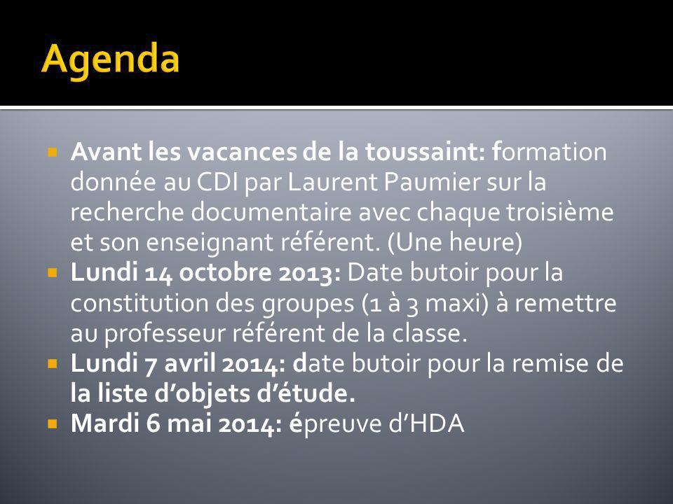 Avant les vacances de la toussaint: formation donnée au CDI par Laurent Paumier sur la recherche documentaire avec chaque troisième et son enseignant
