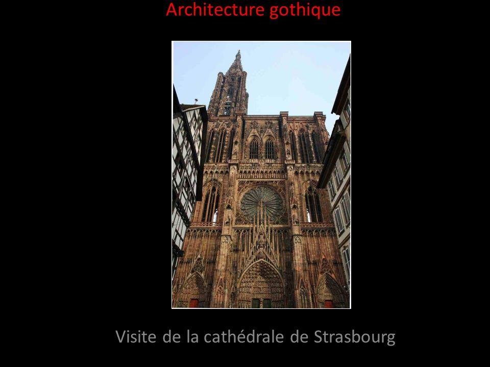 Introduction La cathédrale de Strasbourg est un des joyaux du gothique rhénan.