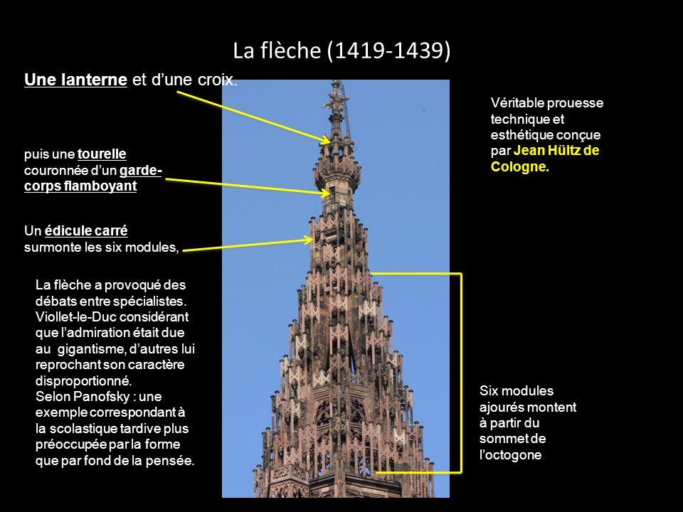 La façade sud Comme laffirme Panofsky dans Architecture gothique et pensée scolastique, lédifice gothique révèle sa structure subdivisée à lextérieur : clarification).