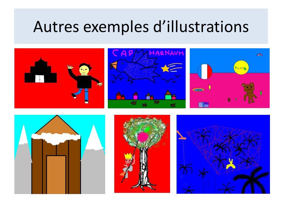 Les 6è1 de Monsieur Freychet Illustrations réalisées par collage durant lintervention de Cécile Holveck.