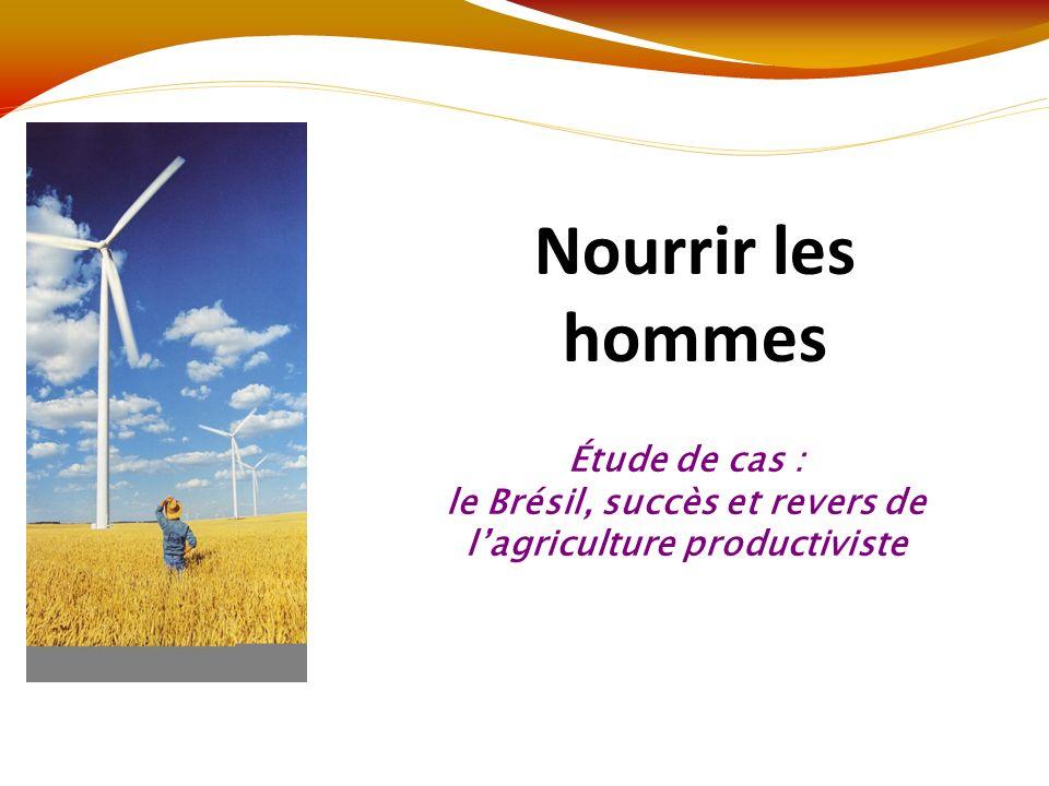 Questions 1 – 5 – 3 (texte 3) p53 Agriculture productiviste : agriculture destinée au commerce et à lexportation