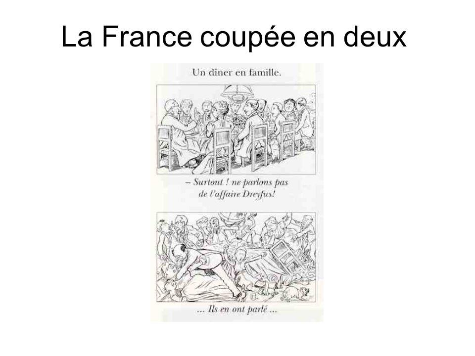 La France coupée en deux