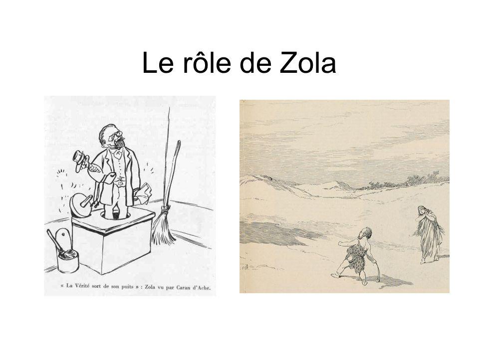 Le rôle de Zola