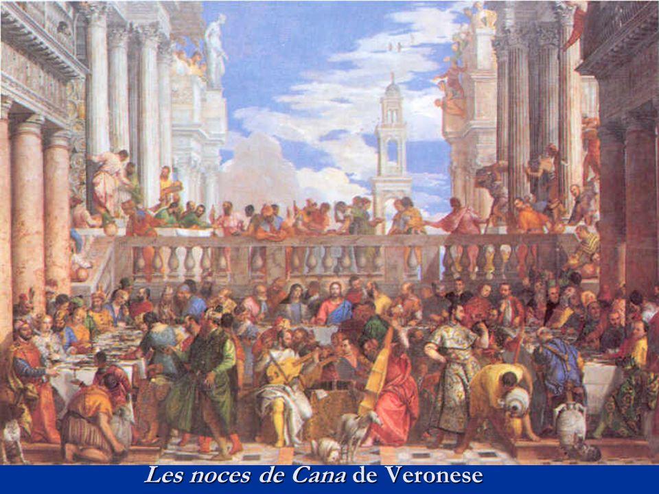Les noces de Cana de Veronese
