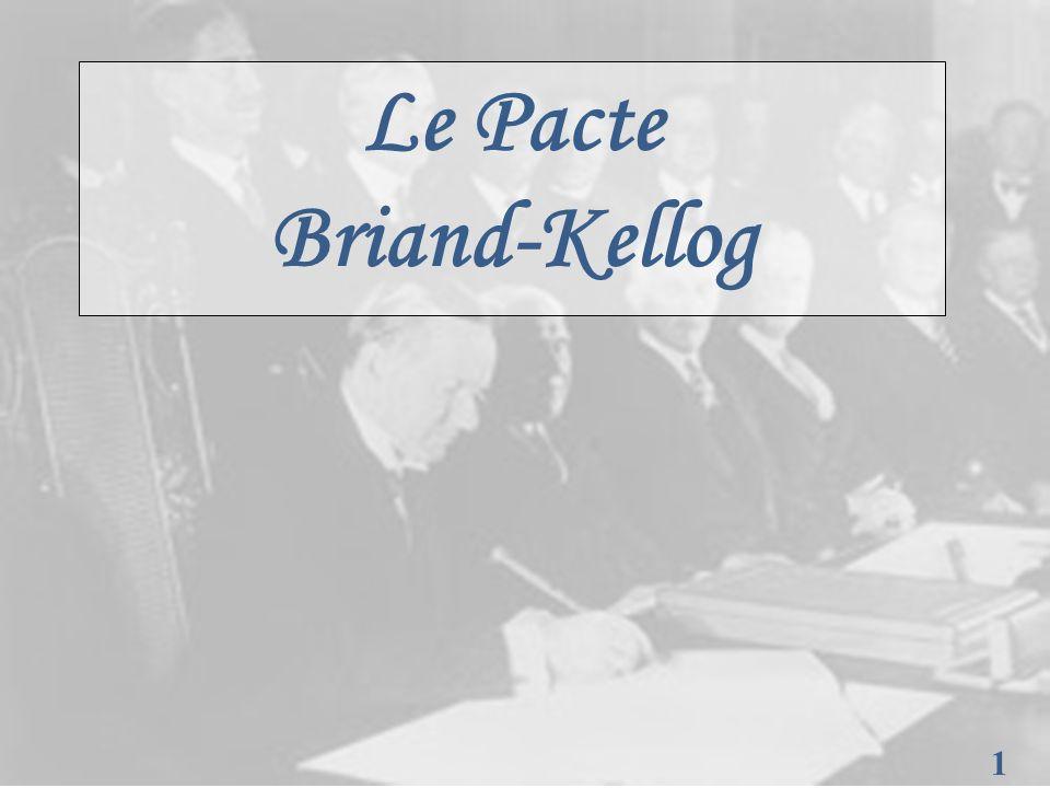 1 1 Le Pacte Briand-Kellog