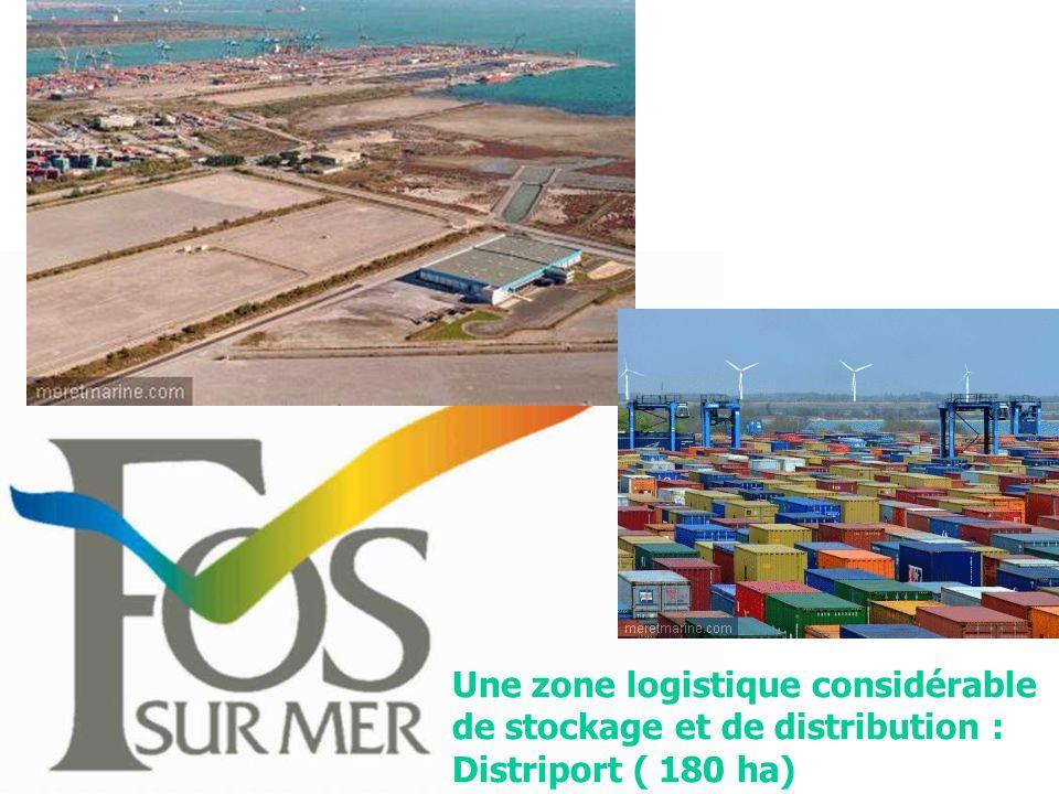 Une zone logistique considérable de stockage et de distribution : Distriport ( 180 ha)